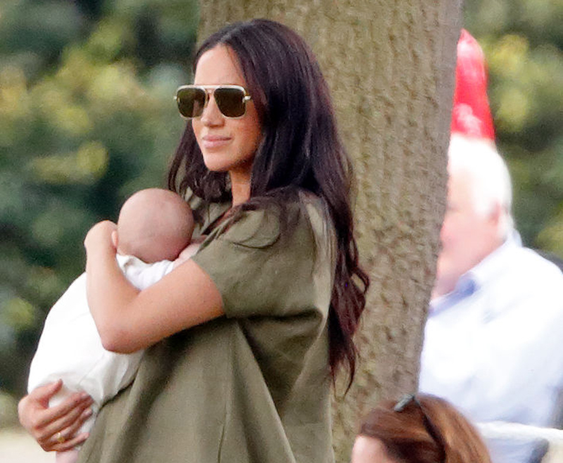 Meghan and baby