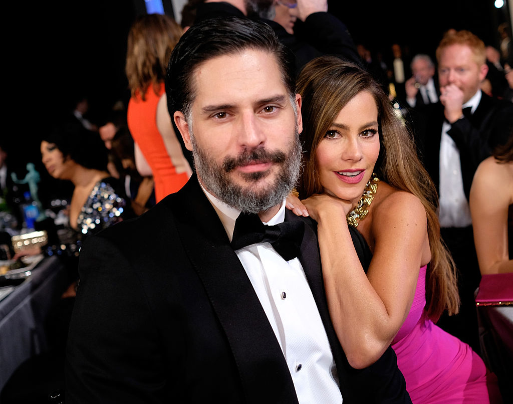 Joe and Sofia pose together at the Screen Actors Guild Awards.