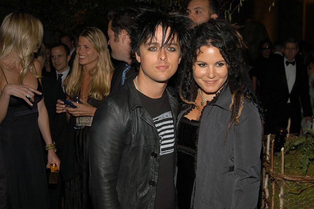 Billy and Adrienne pose for a photo at a gala benefit.