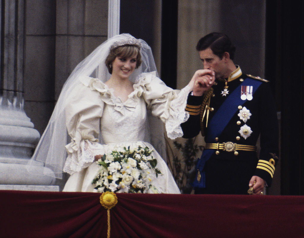 Princess Diana's Gown Featured 10,000 Pearls And Sequins