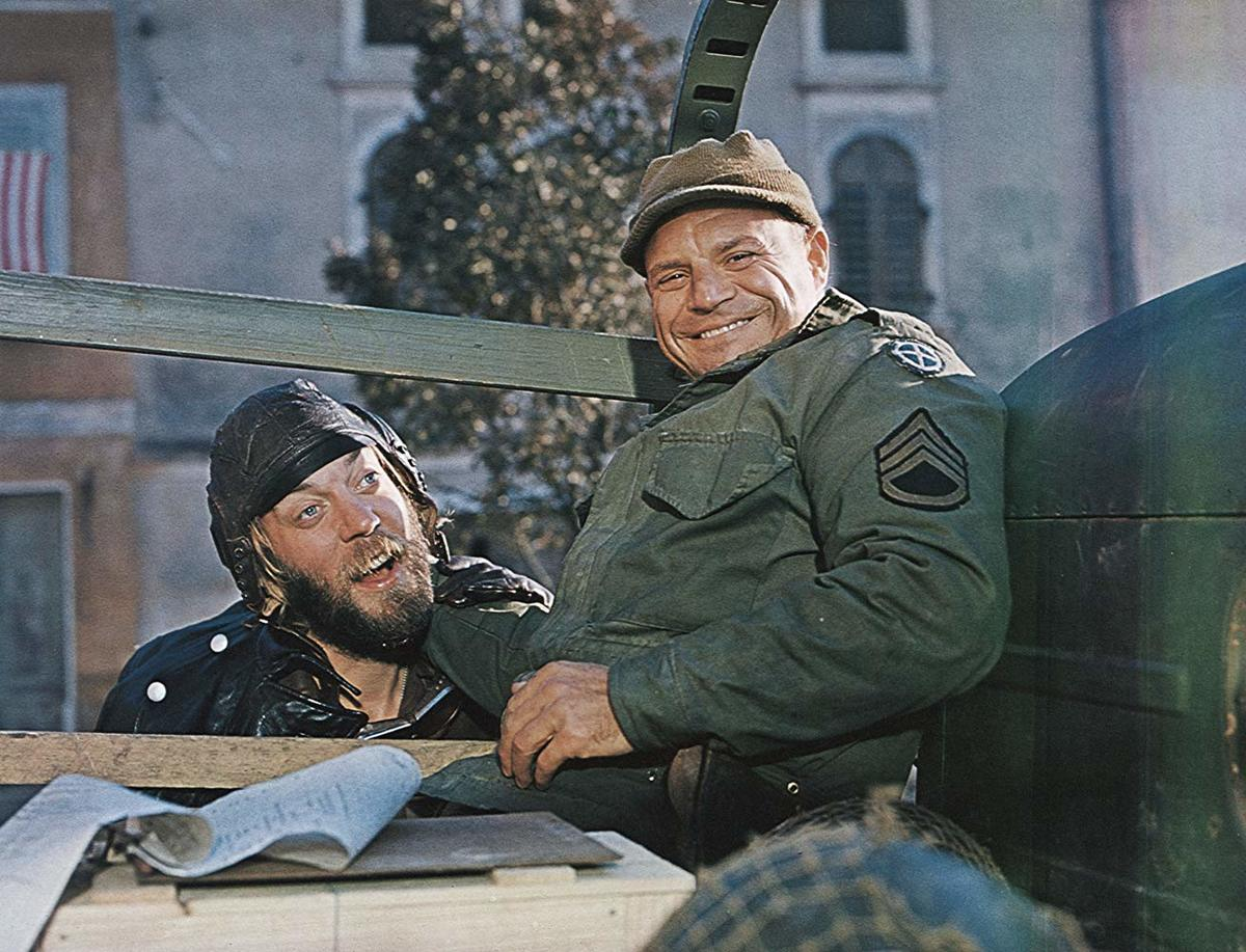 donald sutherland and don rickles in kelly's heroes