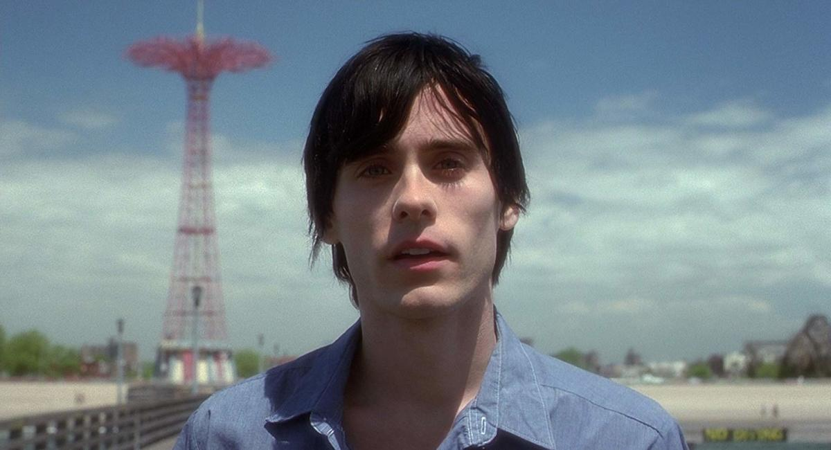 jared leto in a still from requiem for a dream