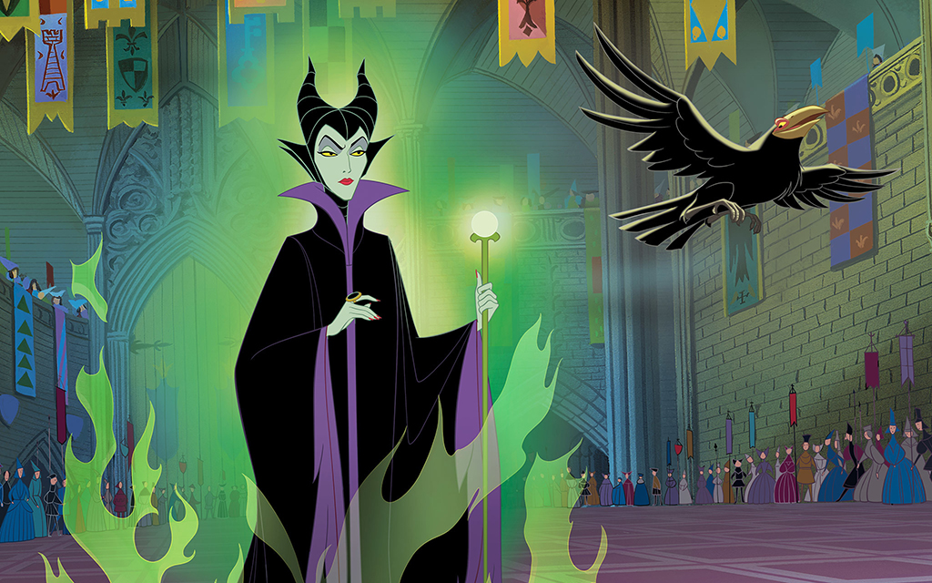 Maleficent and her bird