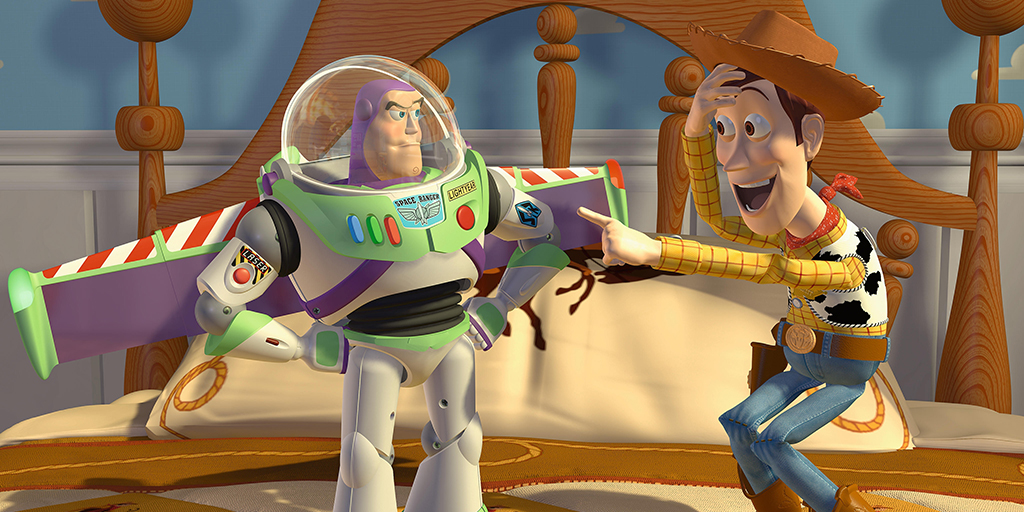 Woody and Buzz featured