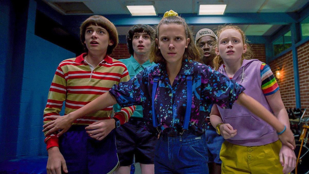 the crew of stranger things