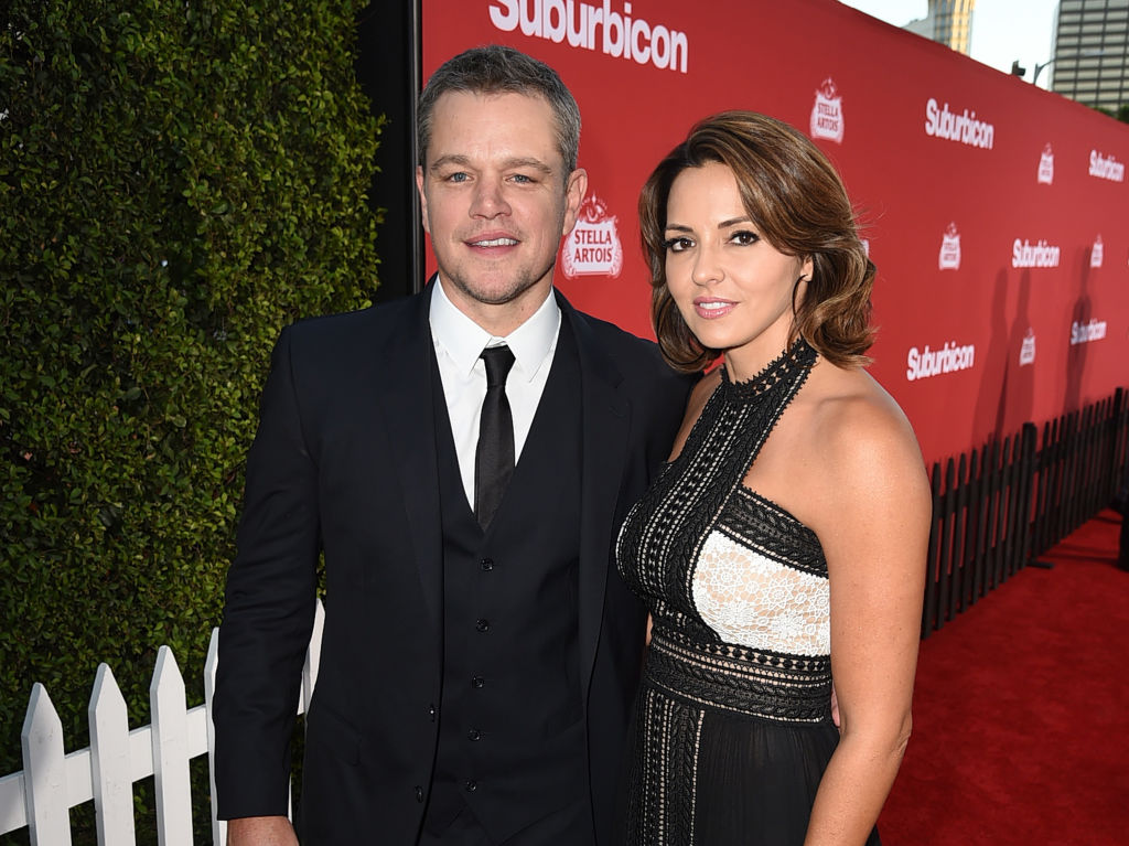 Matt Damon Met His Wife Across A Crowded Room
