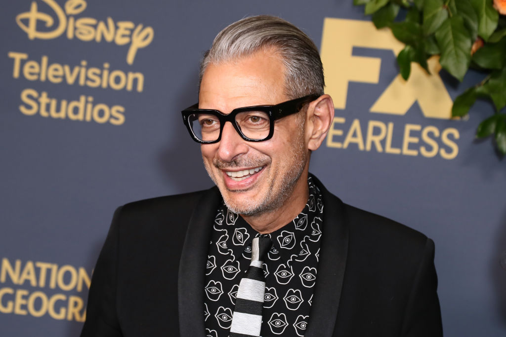Jeff Goldblum Likes His Salt And Pepper Look