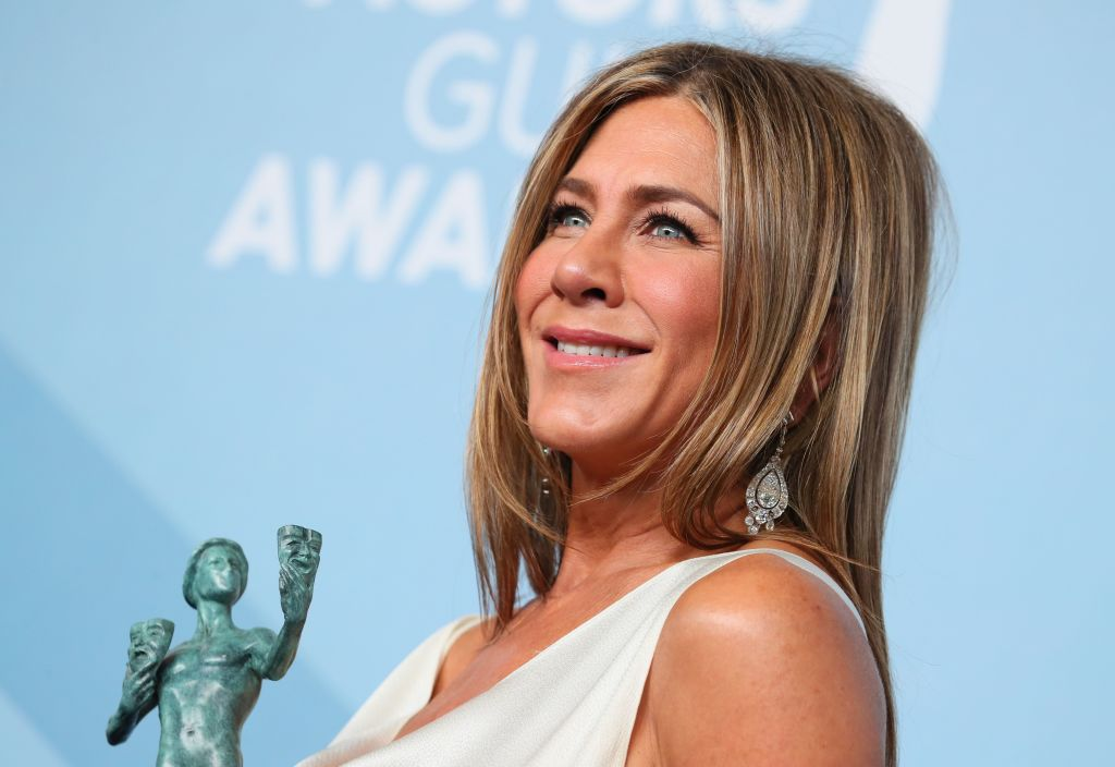 Jennifer Aniston Teared Up