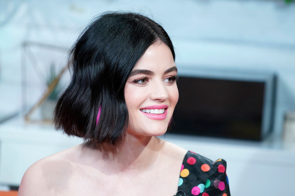 Lucy Hale's Stylist Pointed Out Her Gray Hairs When She Was In Her 20s