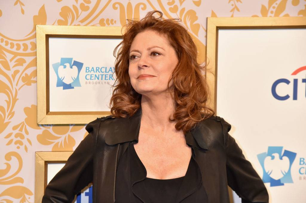 Actress Susan Sarandon attends the 2018 Roc Nation Pre-Grammy Brunch