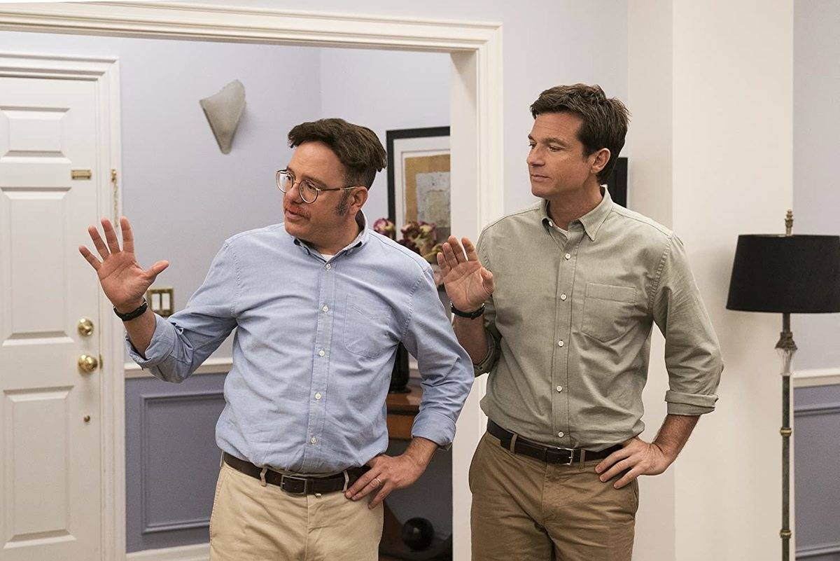 david cross and jason bateman in matching outfits in arrested development