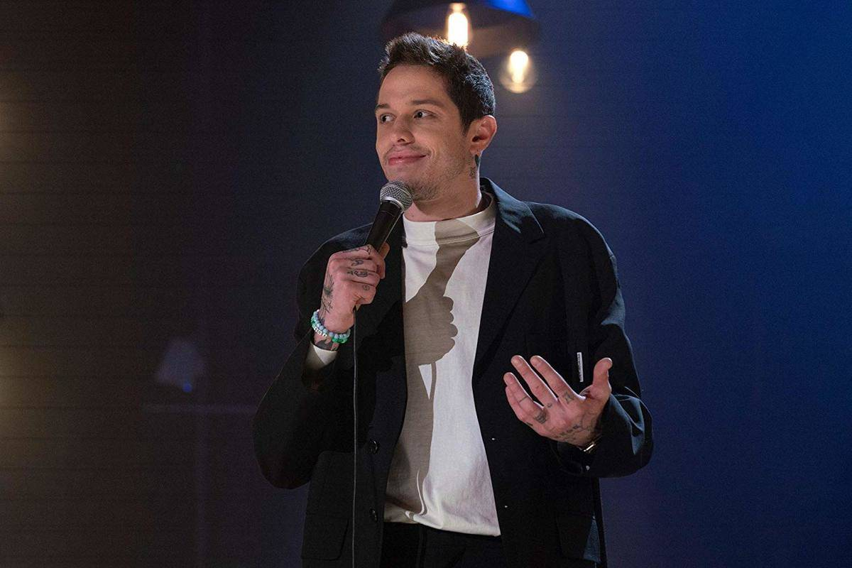 pete davidson performing stand-up