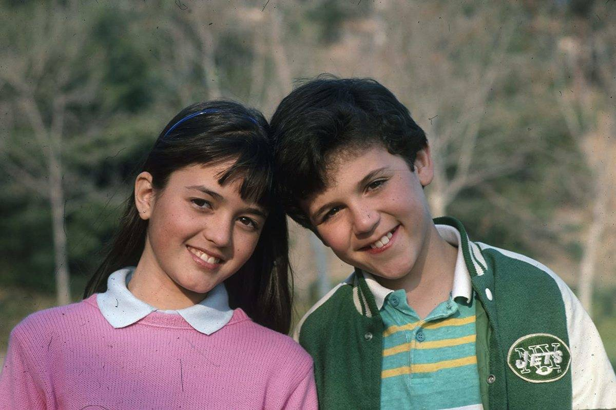 danica mckellar and fred savage in the wonder years