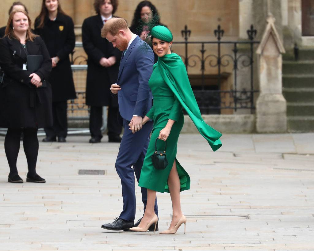 Prince Harry, Duke of Sussex and Meghan, Duchess of Sussex attend the Commonwealth Day Service 2020