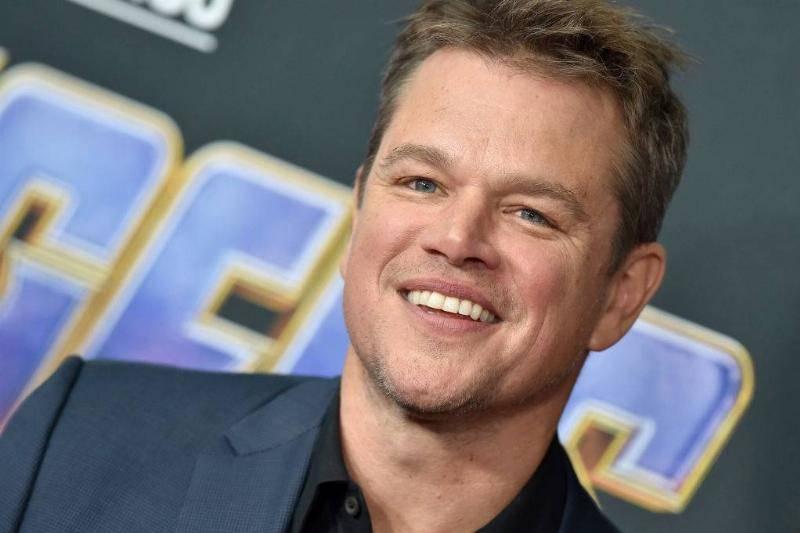 Matt Damon attends the World Premiere of Walt Disney Studios Motion Pictures 'Avengers: Endgame'