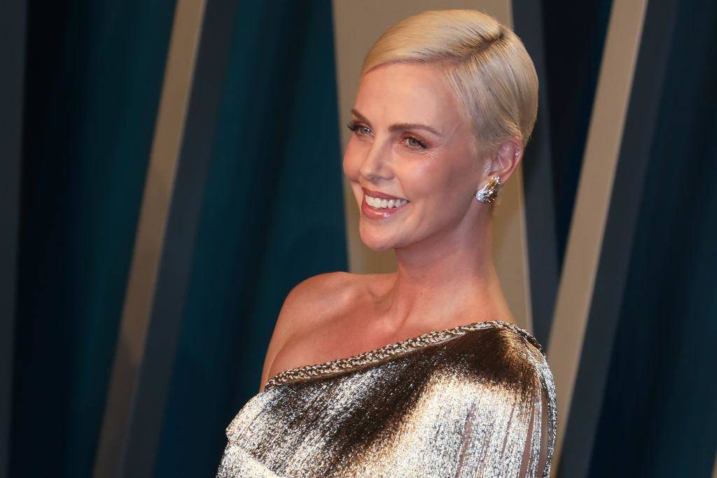 Charlize Theron Confessed She's 'Very Gray'