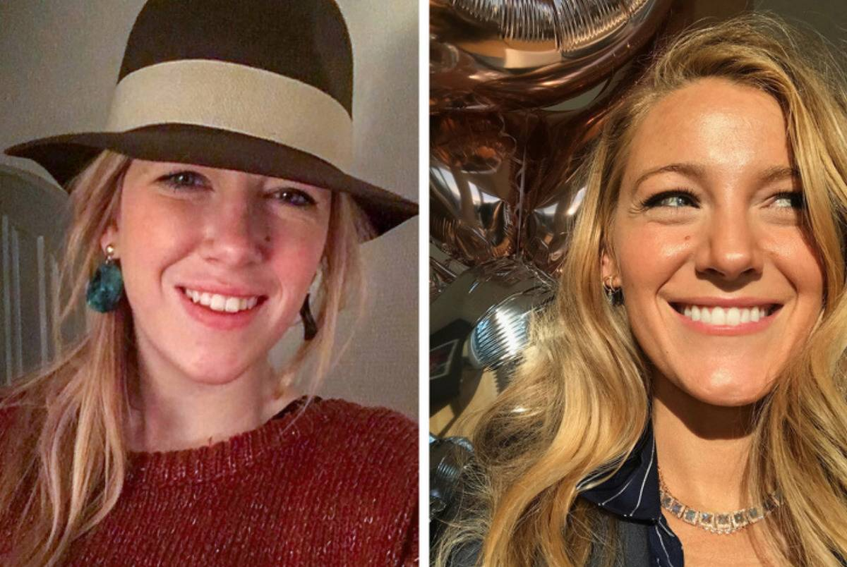 blake lively and lookalike