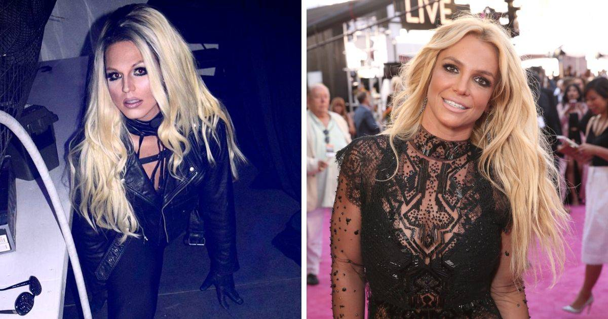 britney spears and lookalike