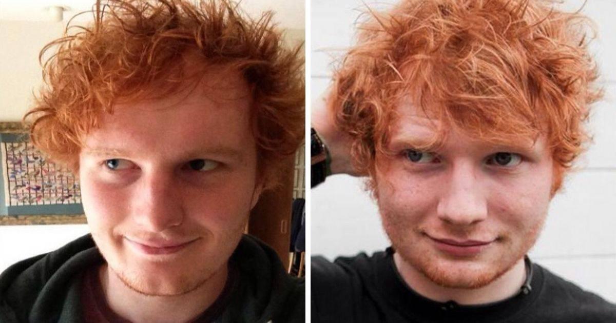 ed sheeran and lookalike
