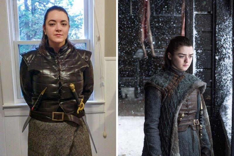 maisie williams and lookalike