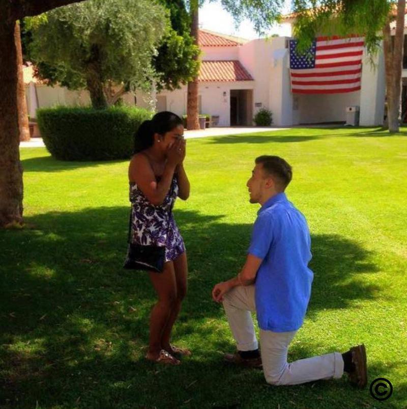matt proposes to laura
