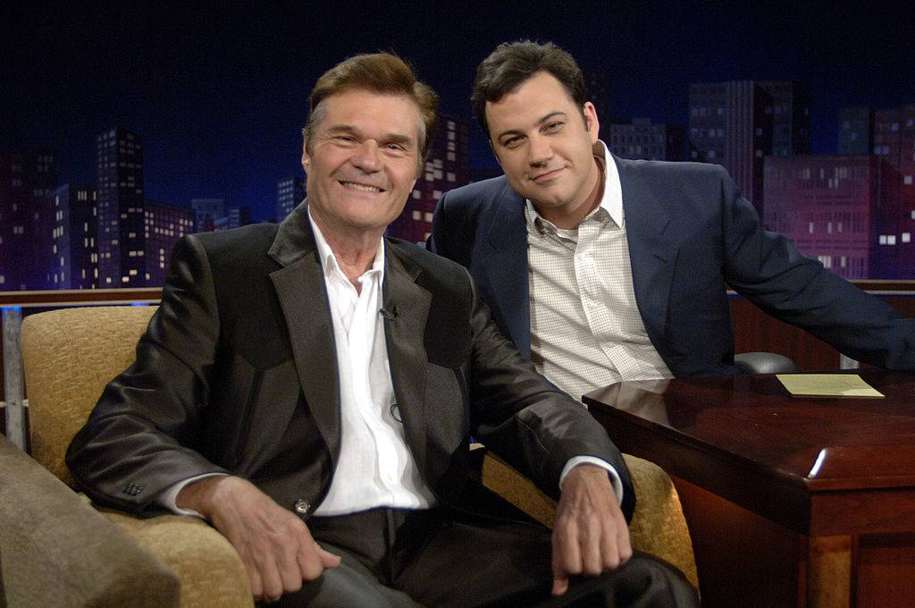 jimmy kimmel live with fred willard