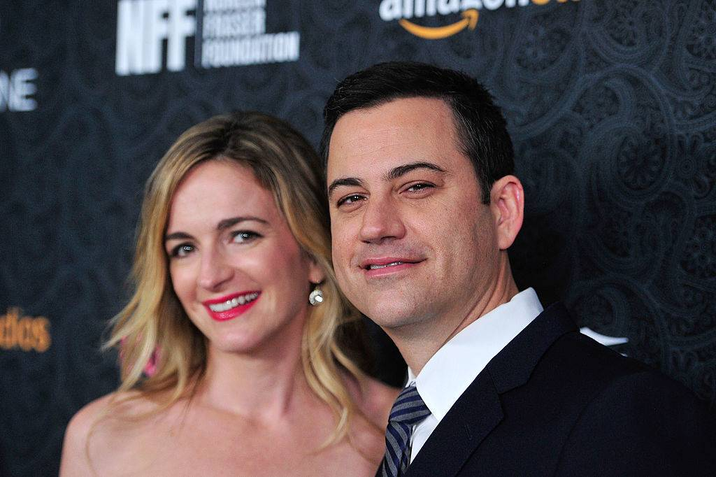 jimmy kimmel and his current wife