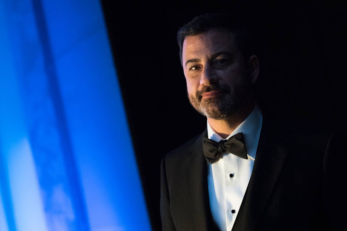 a close up of jimmy kimmel