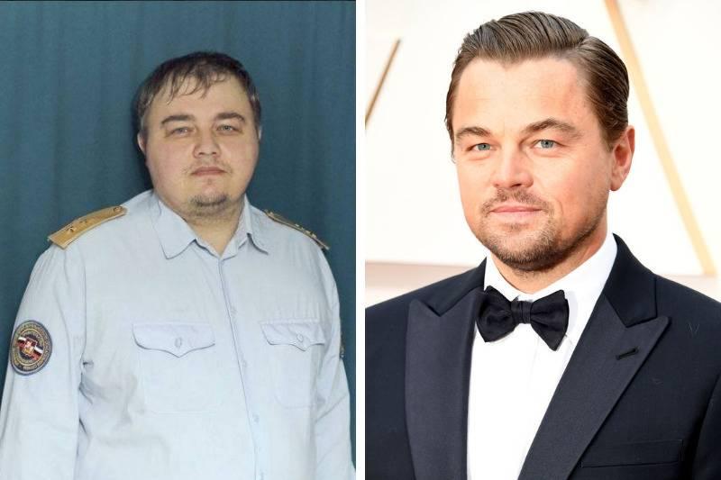 Leo's Look Alike side by side