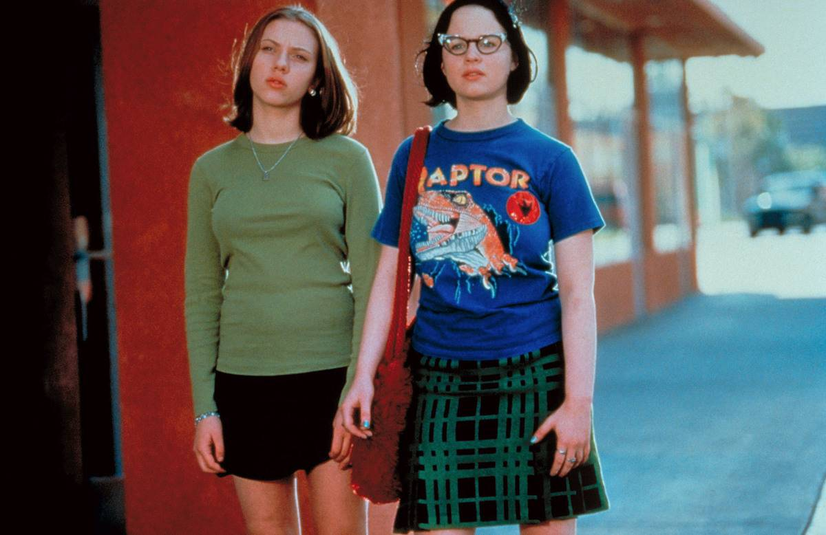 Enid And Rebecca In Ghost World