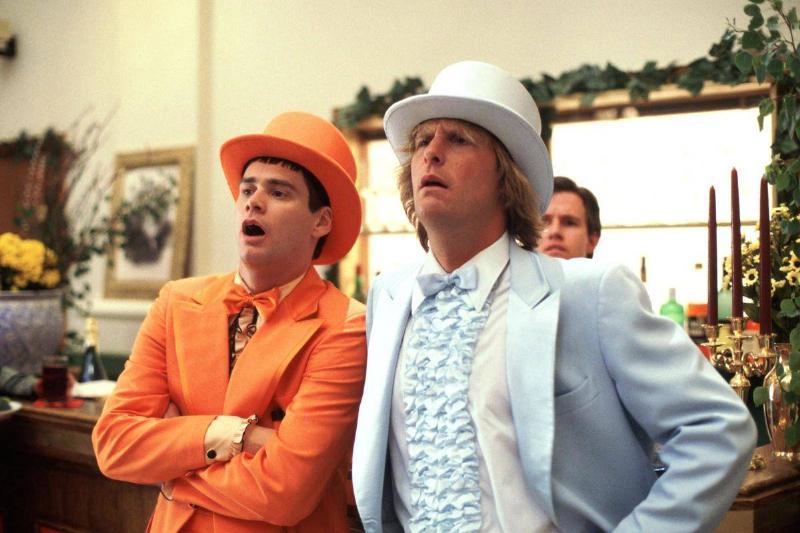 Lloyd Christmas And Harry Dunne In Dumb & Dumber