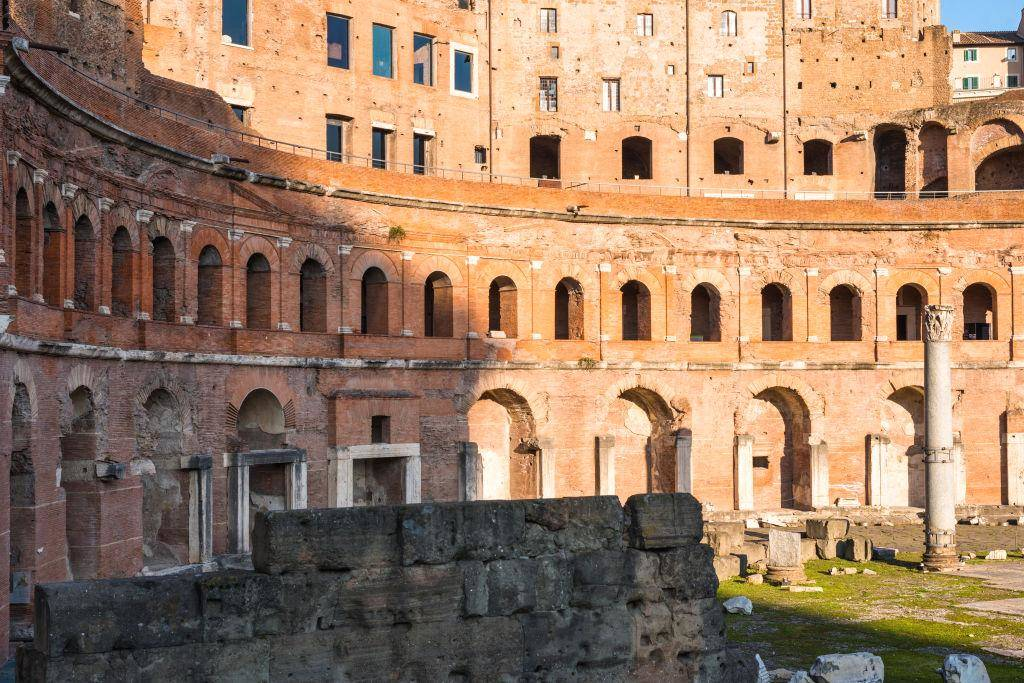 Ancient Rome Invented The Shopping Mall