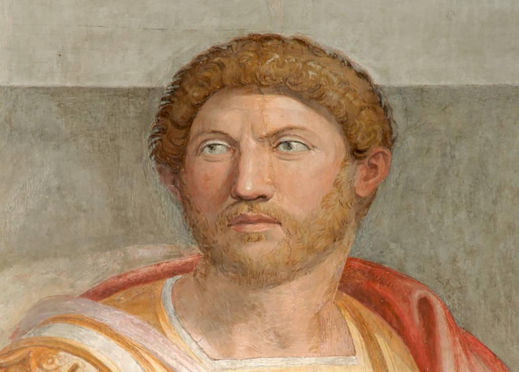 Painting of Hadrian