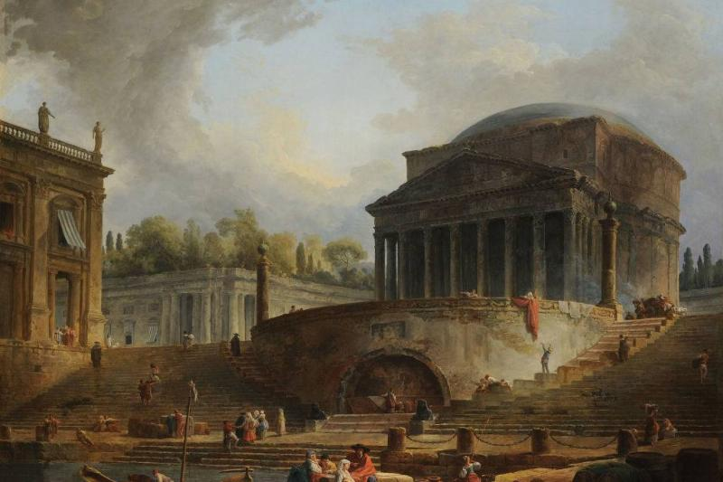Painting of the Pantheon