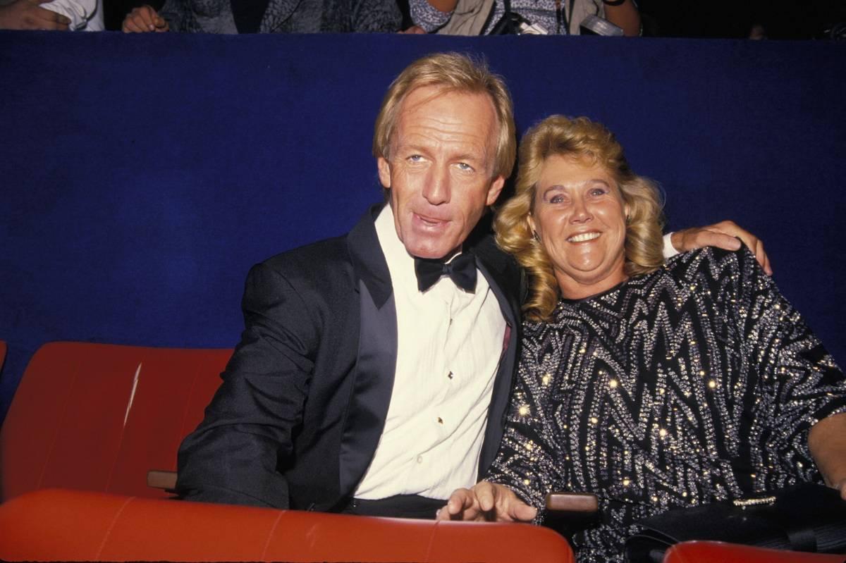 Paul Hogan And Noelene Edwards