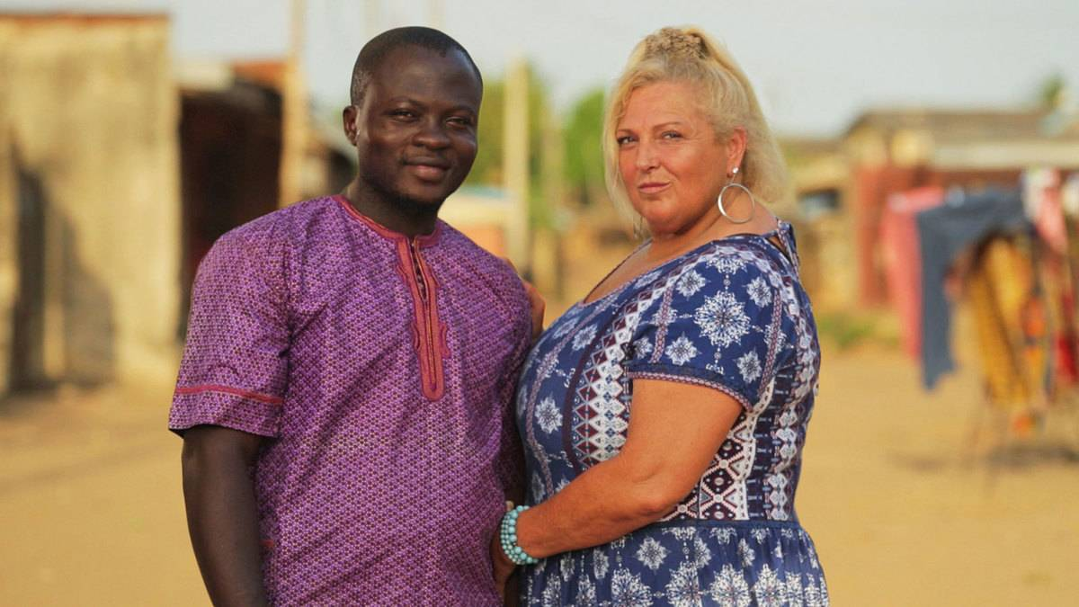 Then: Angela Deem And Micheal Ilesanmi