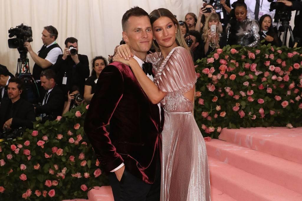 Gisele Bündchen and Tom Brady attend the 2019 Met Gala