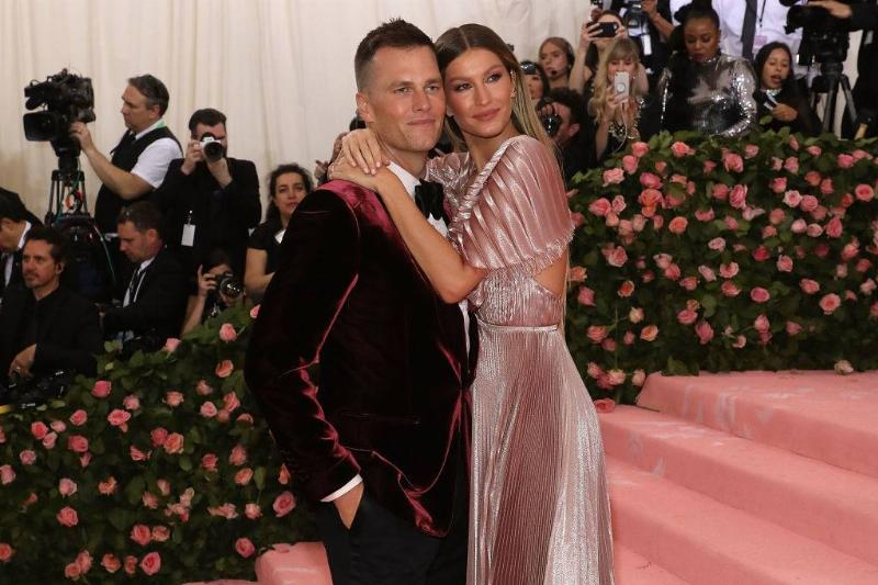 Gisele Bündchen and Tom Brady attend the 2019 Met Gala