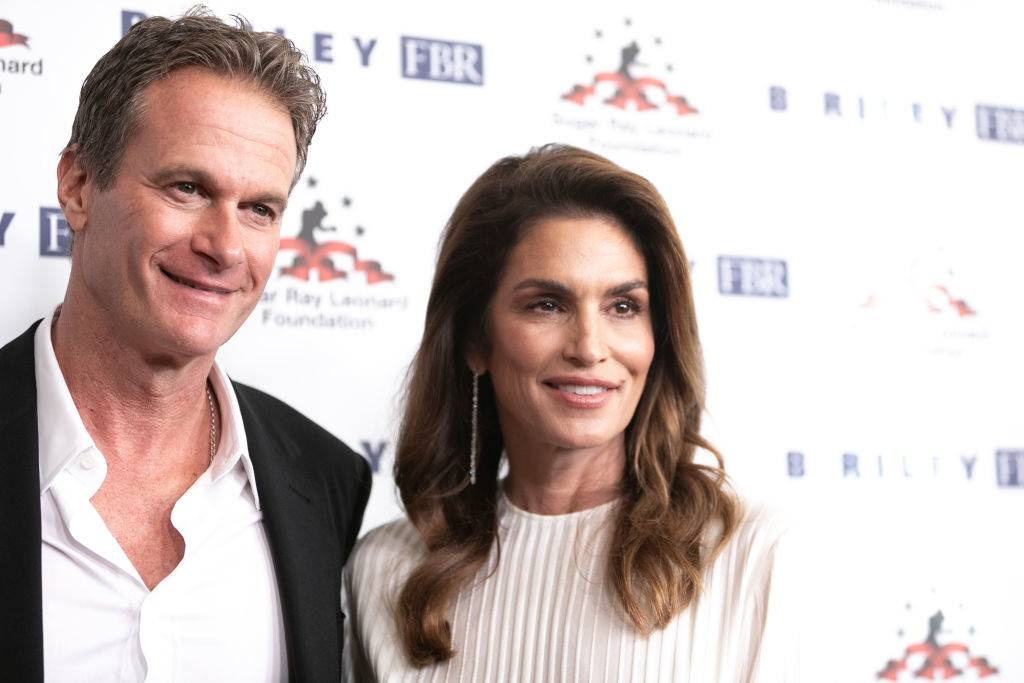Rande Gerber and Cindy Crawford in 2019
