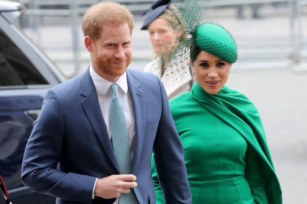 prince harry and meghan markle in 2020