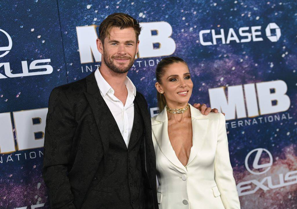 Chris Hemsworth and Elsa Pataky in 2019