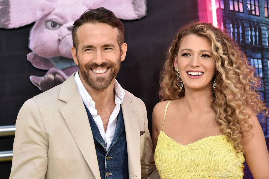 Ryan Reynolds and Blake Lively attending an event in 2019