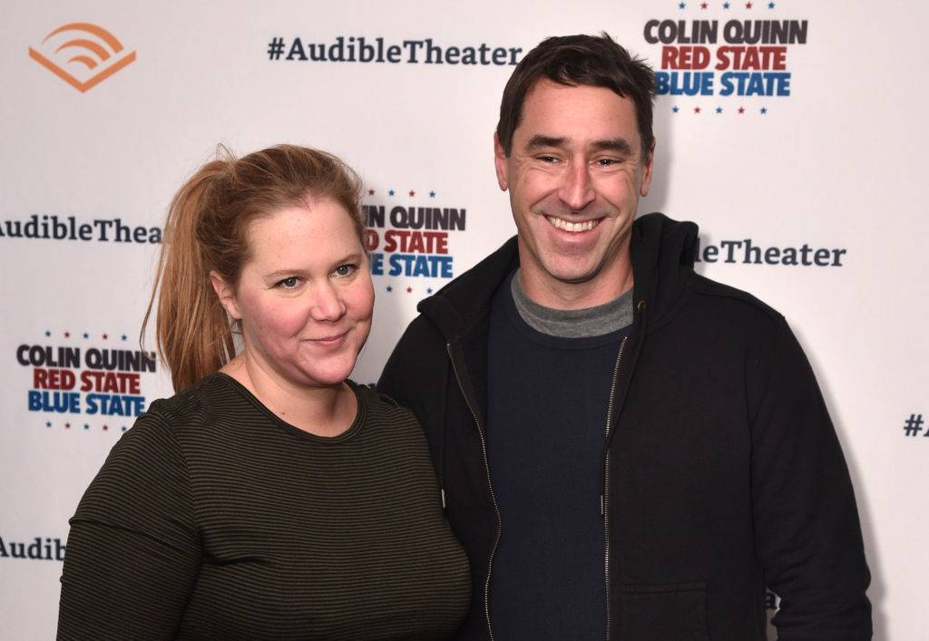 Amy Schumer and Chris Fischer in 2019
