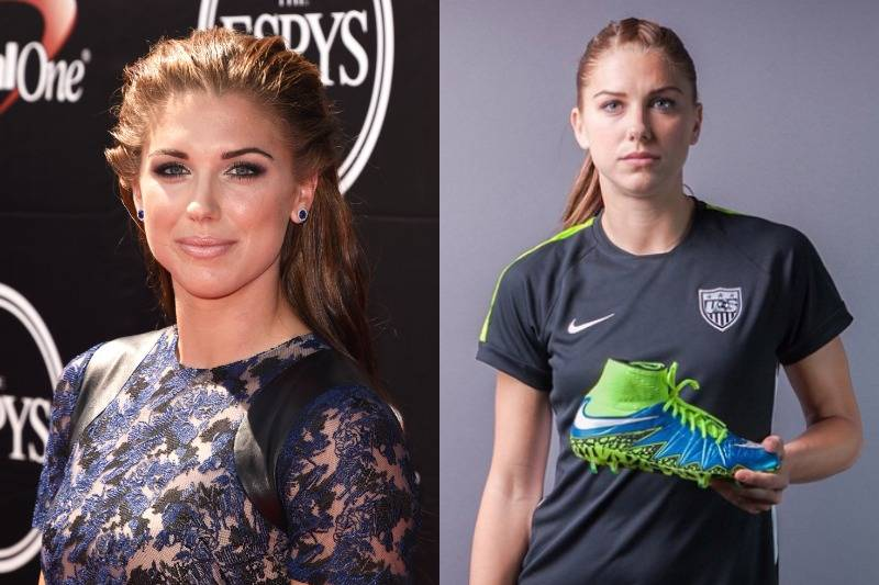 Alex Morgan Is A Tomboy Who Loves Her Makeup