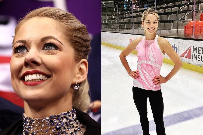 Alexa Scimeca Knierim Looks Like A Typical Co-Ed