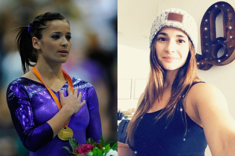 Alicia Sacramone Is Fresh-Faced Off The Gym Mat