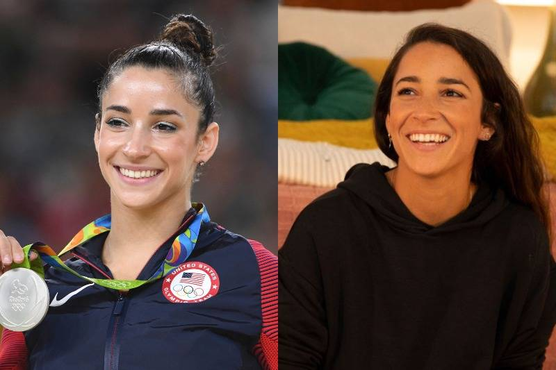 Aly Raisman Looks Fresh-Faced Without Makeup
