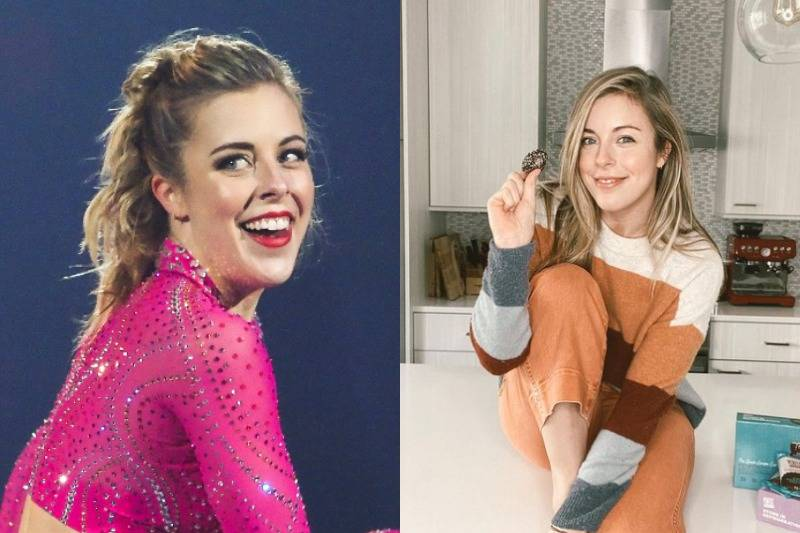 Ashley Wagner Looks A Bit Paler Without All The Bronzer