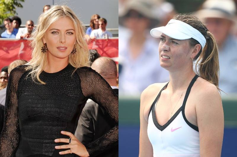 Maria Sharapova Doesn't Wear Makeup On The Court