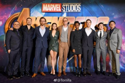 The Avengers Infinity War Red Carpet Was Stacked